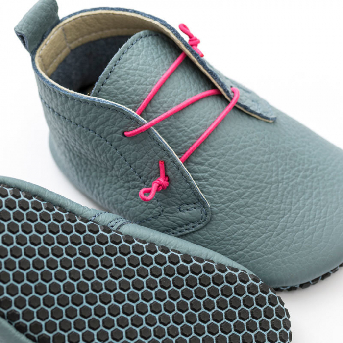 Pantofi cu talpă moale Liliputi cu crampoane antialunecare - Urban Cloud 1