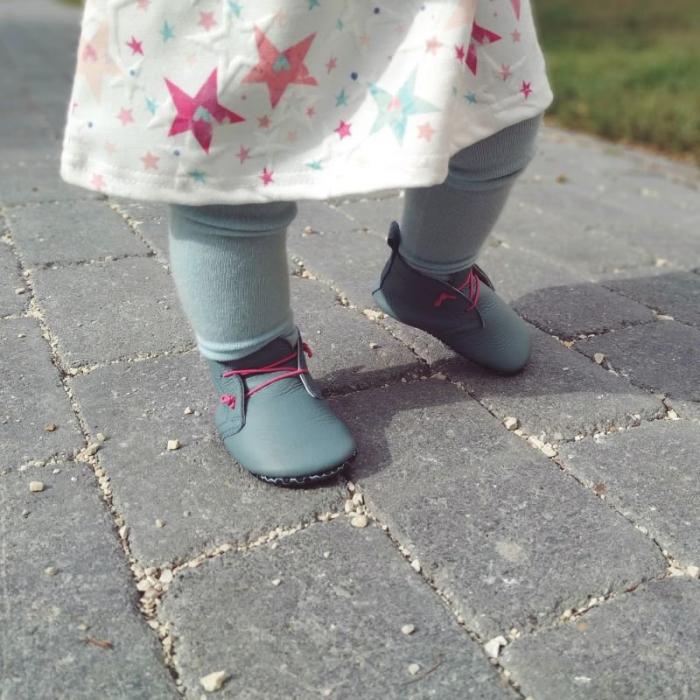 Pantofi cu talpă moale Liliputi cu crampoane antialunecare - Urban Cloud 3