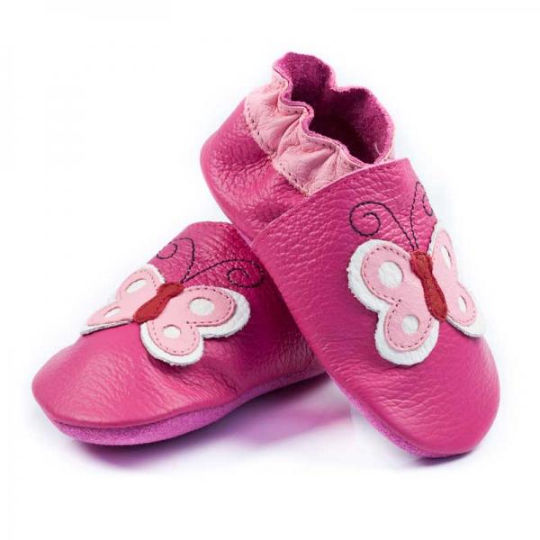 Pantofi cu talpă moale Liliputi® - Butterfly 0