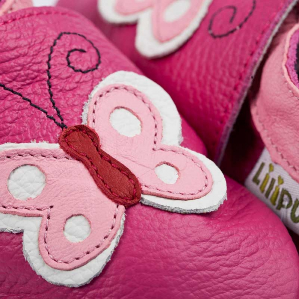 Pantofi cu talpă moale Liliputi® - Butterfly 1