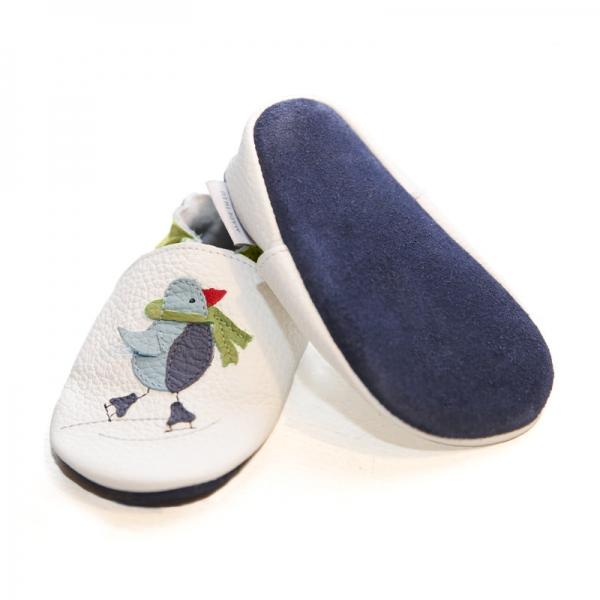 Pantofi cu talpă moale Liliputi® - Cool Penguin 2