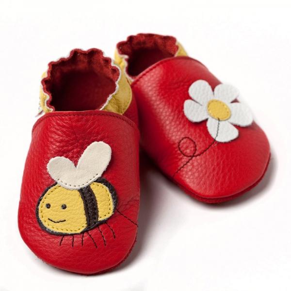Pantofi cu talpă moale Liliputi® - Little bee 0
