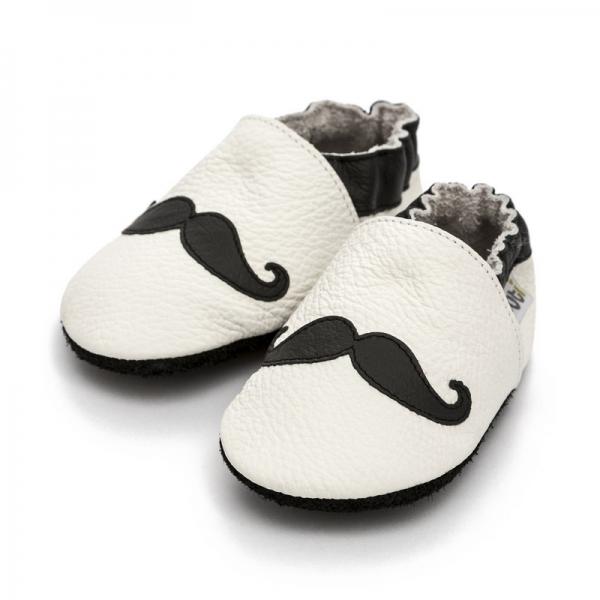 Pantofi cu talpă moale Liliputi® - Moustache [1]
