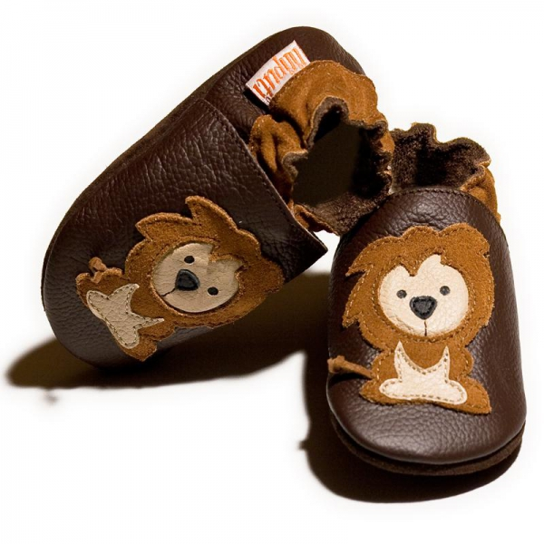 Pantofi cu talpă moale Liliputi® - Protector Lions