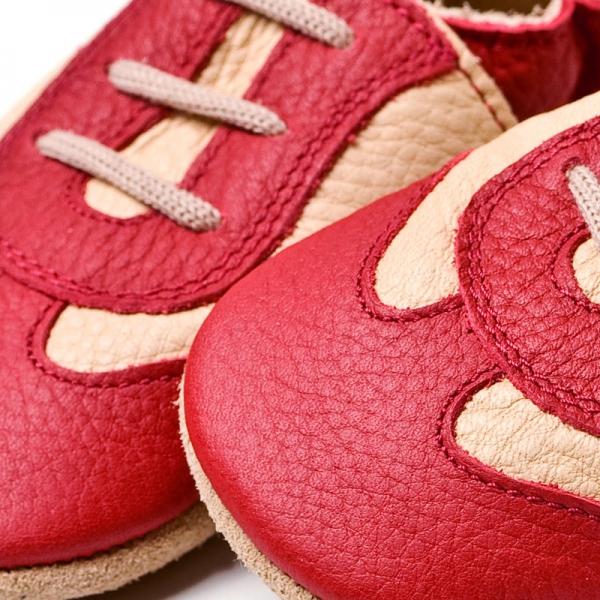 Pantofi cu talpă moale Liliputi® - Red Sport 1