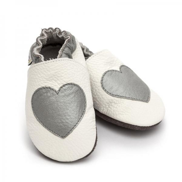 Pantofi cu talpă moale Liliputi® - Silver Love