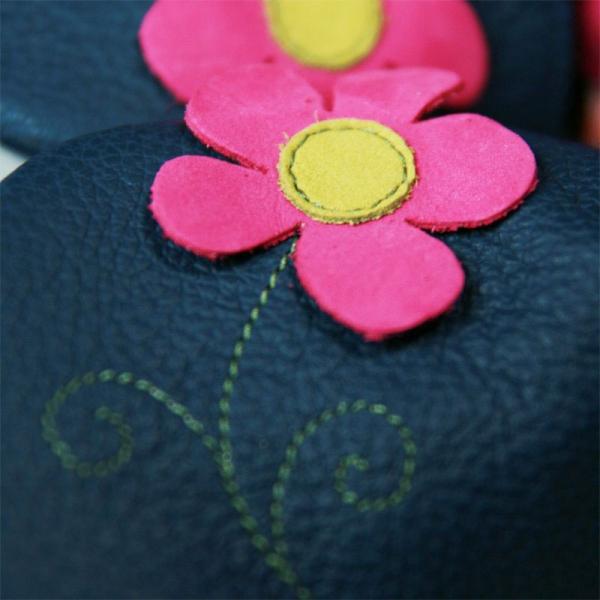 Pantofi cu talpă moale Liliputi® - Spring Flower 1