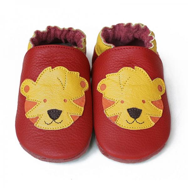 Pantofi cu talpă moale Liliputi® - Tigers 0