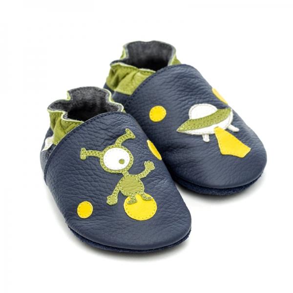 Pantofi cu talpă moale Liliputi® - Ufo 0
