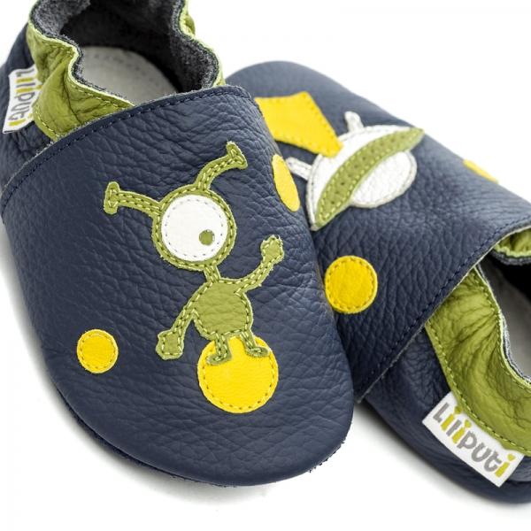 Pantofi cu talpă moale Liliputi® - Ufo 1