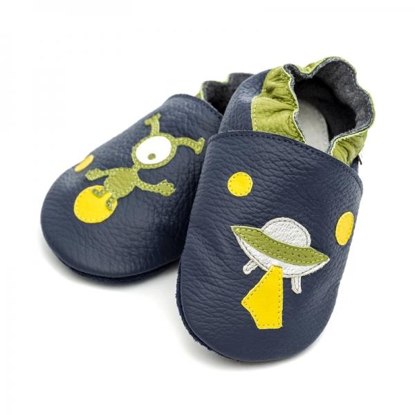 Pantofi cu talpă moale Liliputi® - Ufo 2