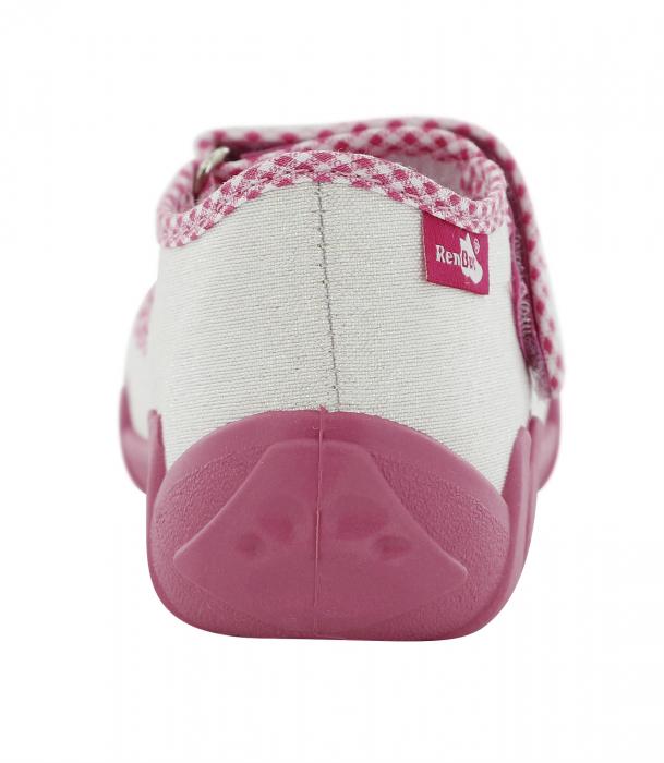 Pantofi fete cu aspect stralucitor, cu fundita (cu scai), din material textil 5