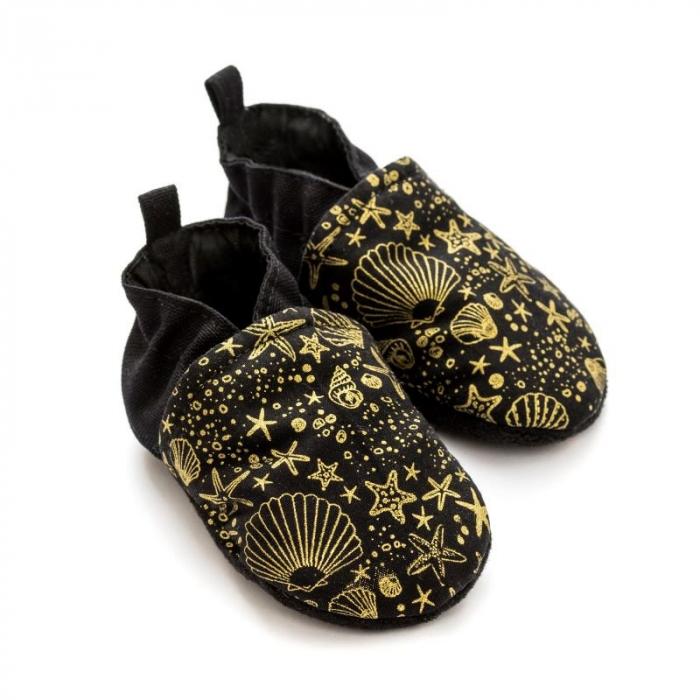 Pantofi la purtat Liliputi - Golden Sea 0