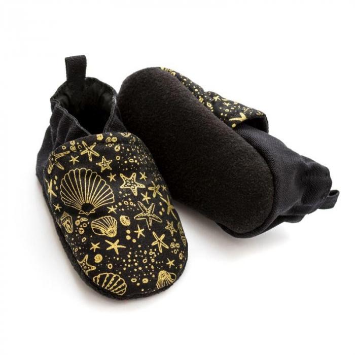 Pantofi la purtat Liliputi - Golden Sea 2