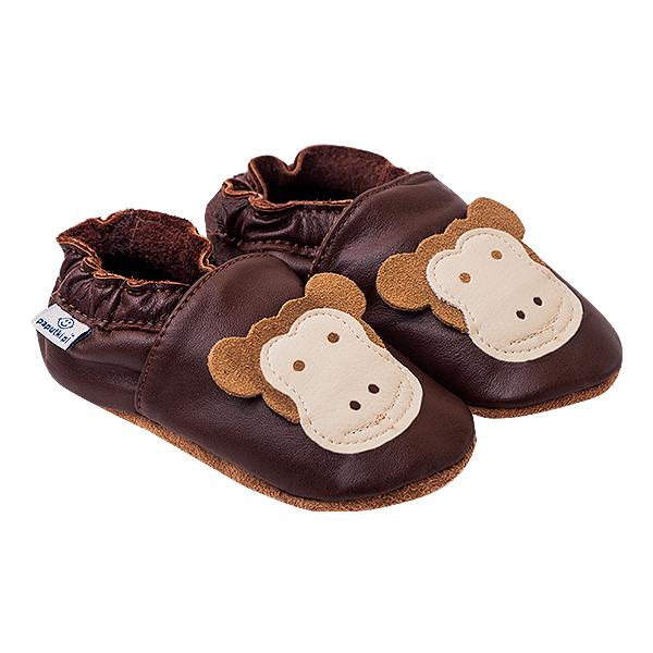 Papucei piele - Funny Monkeys 0