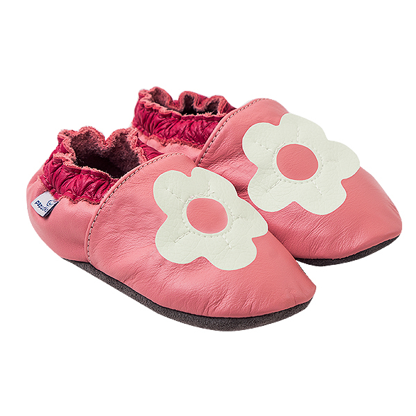 Papucei piele - White Margaret 0