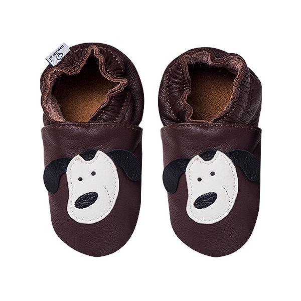 Papucei piele - Smiley Doggies 2