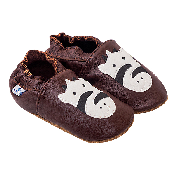 Papucei piele - Striped Zebra 0