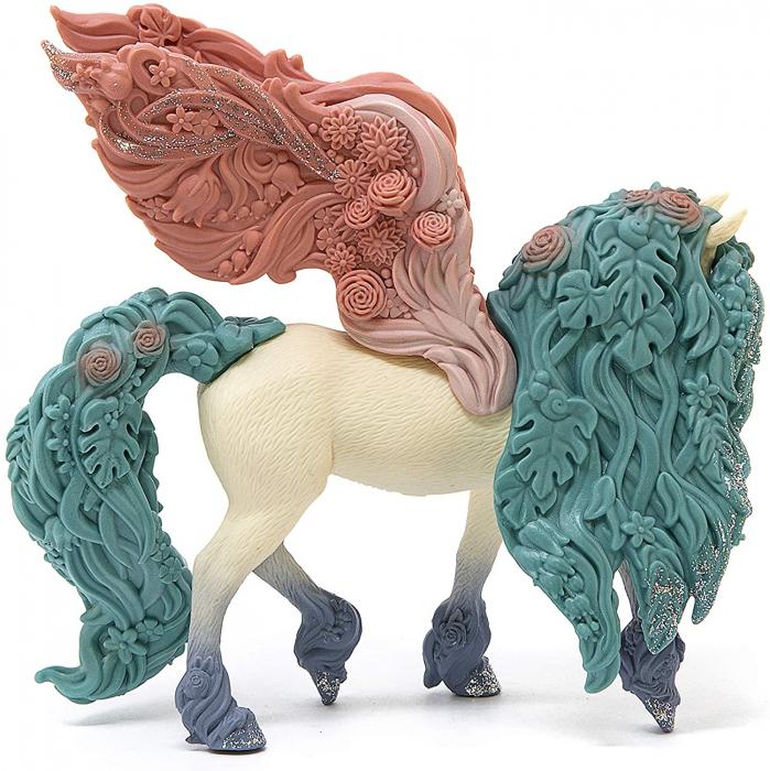 Pegasus impodobit cu flori - Figurina Schleich 70590 1
