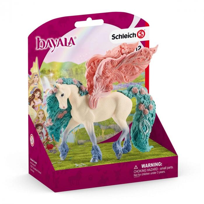 Pegasus impodobit cu flori - Figurina Schleich 70590 5