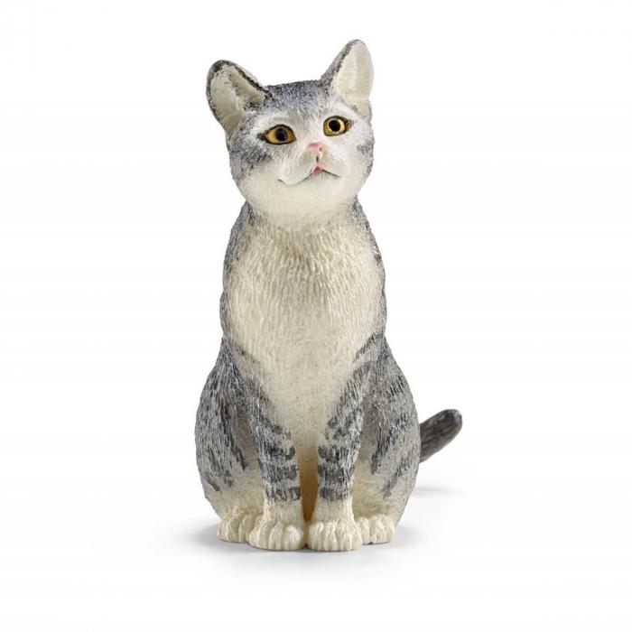 Pisica așezată - Figurina Schleich 13771 [0]