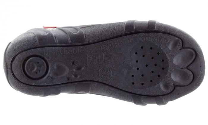 Sandale baieti in carouri colorate (cu scai), din material textil 6