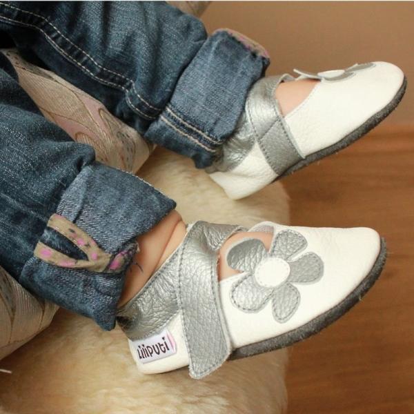 Sandale cu talpă moale Liliputi® - Ice Flower 1