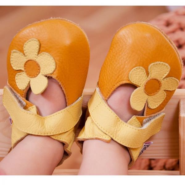 Sandale cu talpă moale Liliputi® - Sunflower 3