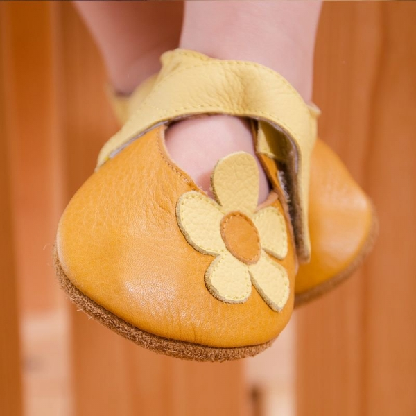 Sandale cu talpă moale Liliputi® - Sunflower 1