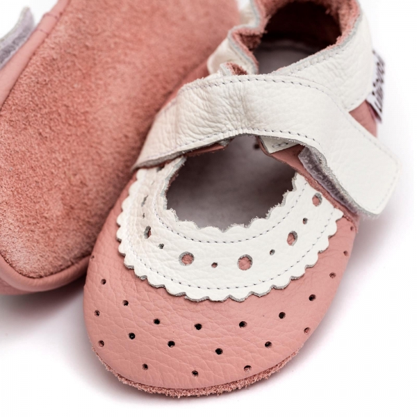 Sandale cu talpă moale Liliputi® - Baby Rose 3