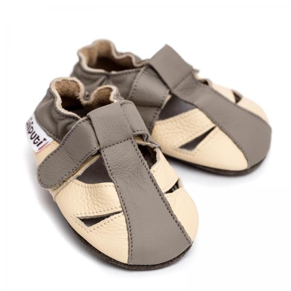 Sandale cu talpă moale Liliputi® - Greyhound 0