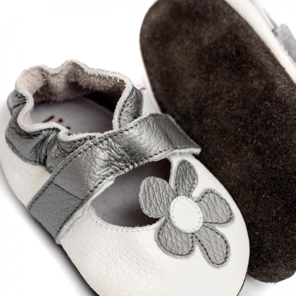 Sandale cu talpă moale Liliputi® - Ice Flower 3