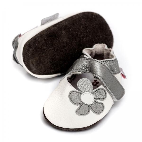 Sandale cu talpă moale Liliputi® - Ice Flower 2