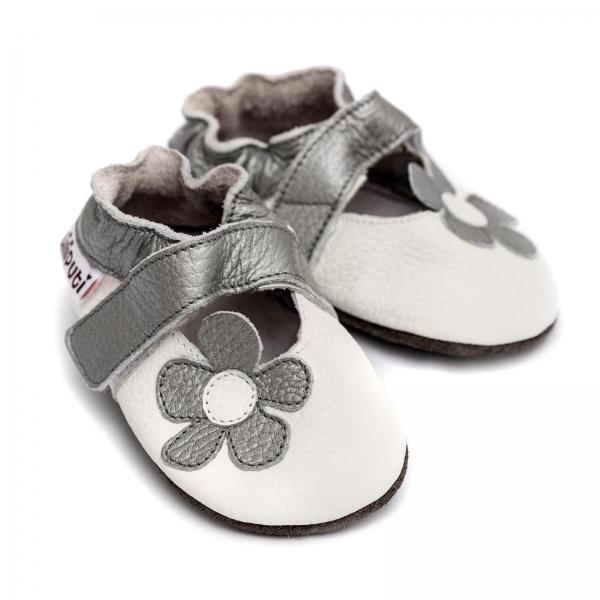 Sandale cu talpă moale Liliputi® - Ice Flower 0