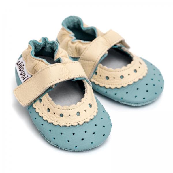Sandale cu talpă moale Liliputi® - Iris 0