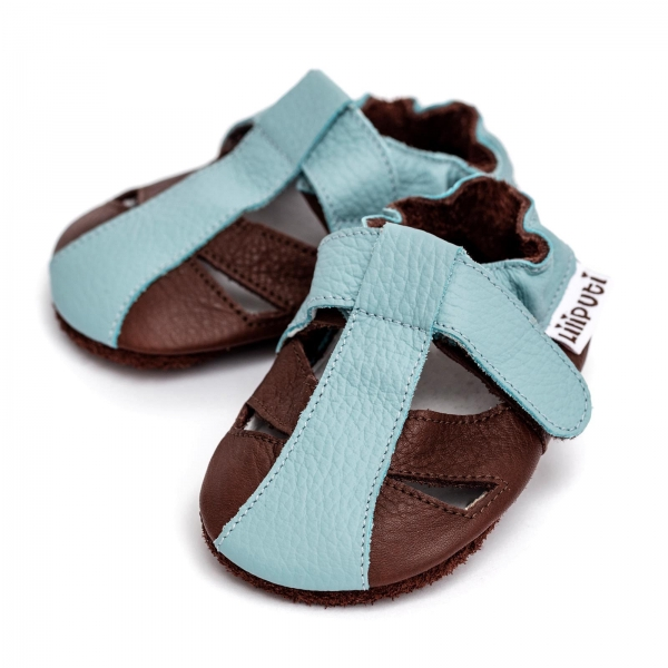 Sandale cu talpă moale Liliputi® - Mount Blanc 0