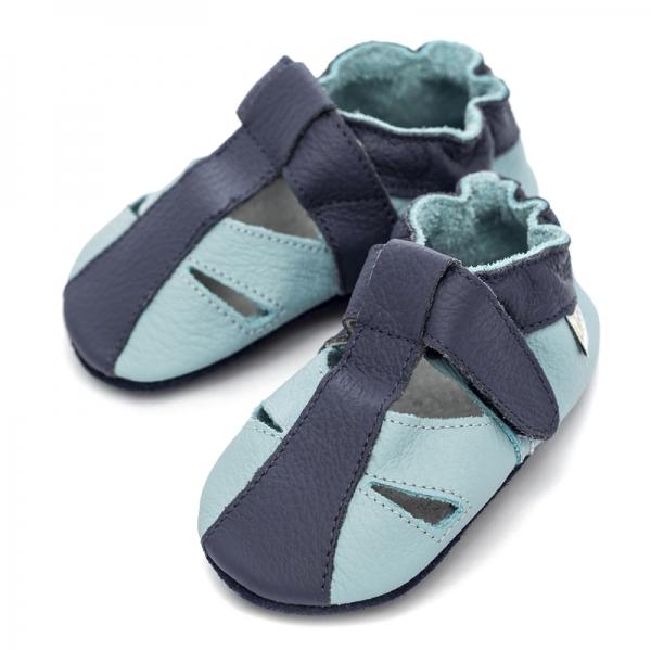 Sandale cu talpă moale Liliputi® - Sky 0
