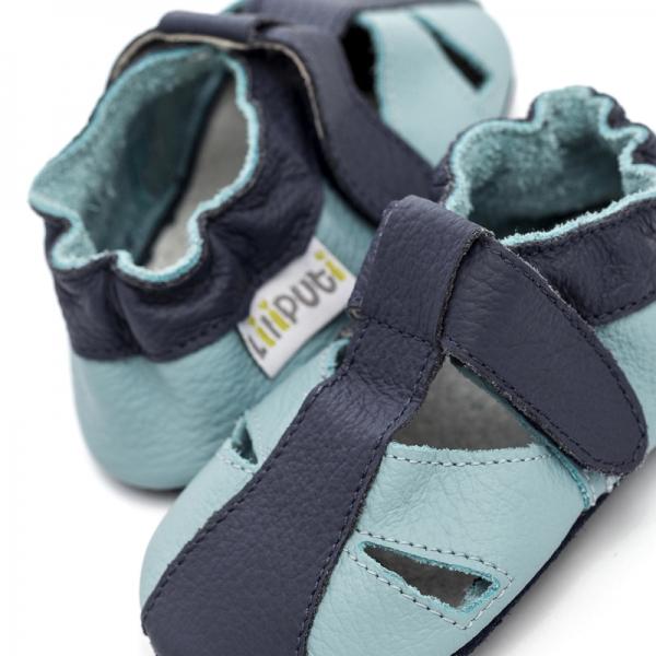 Sandale cu talpă moale Liliputi® - Sky 2
