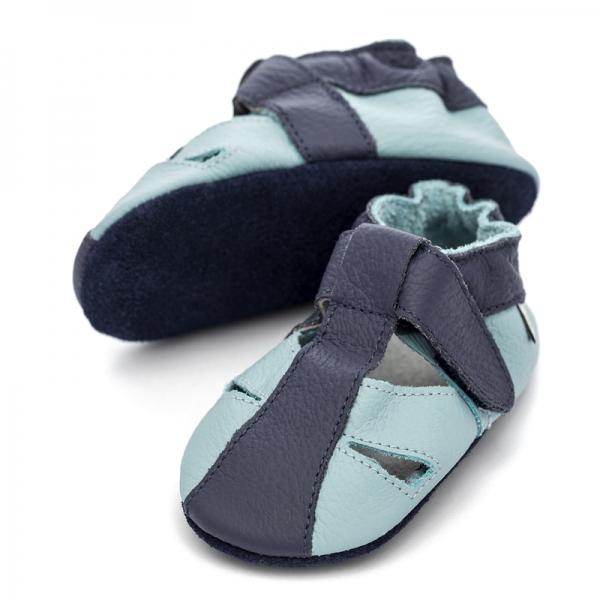 Sandale cu talpă moale Liliputi® - Sky 1