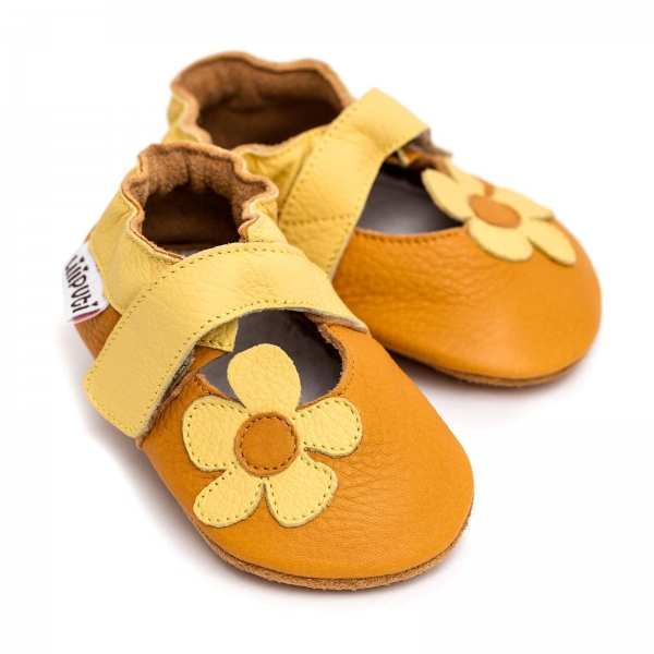 Sandale cu talpă moale Liliputi® - Sunflower 0