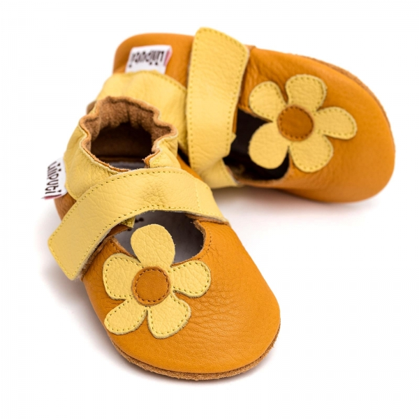 Sandale cu talpă moale Liliputi® - Sunflower 2