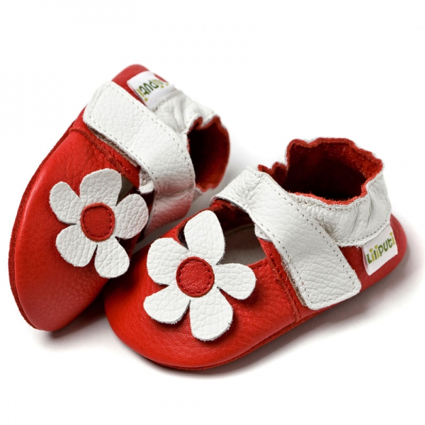 Sandale cu talpă moale Liliputi® - Hawaii Red 0
