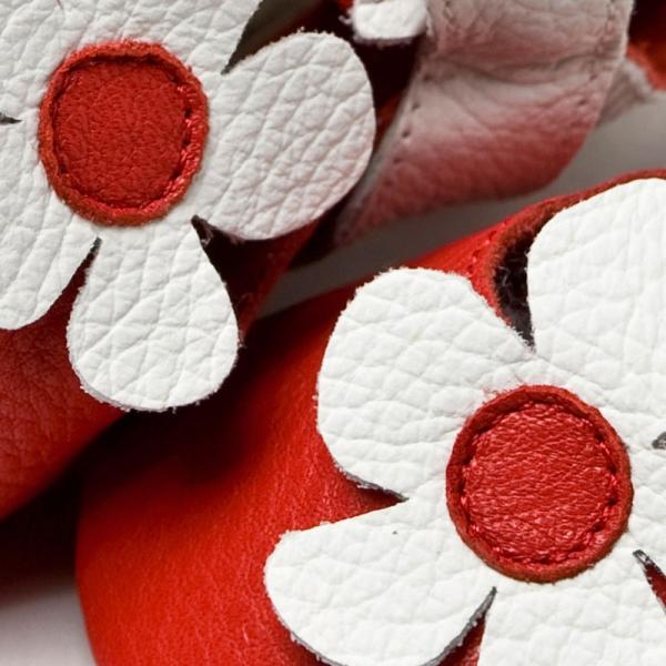 Sandale cu talpă moale Liliputi® - Hawaii Red 2