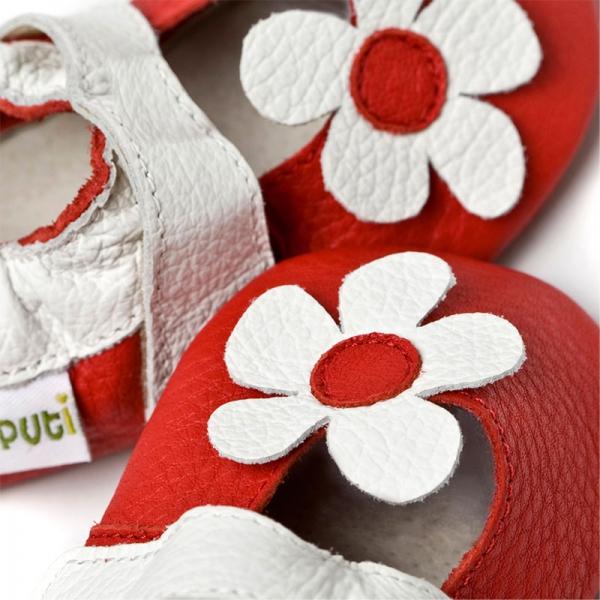 Sandale cu talpă moale Liliputi® - Hawaii Red 1