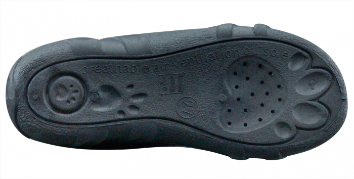 Sandale fete cu motive florale (cu scai), din material textil 6