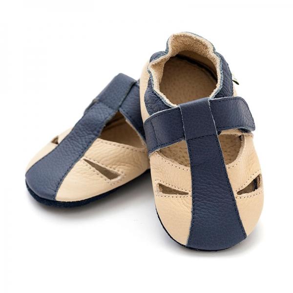 Sandale cu talpă moale Liliputi® - Atacama Beige 2