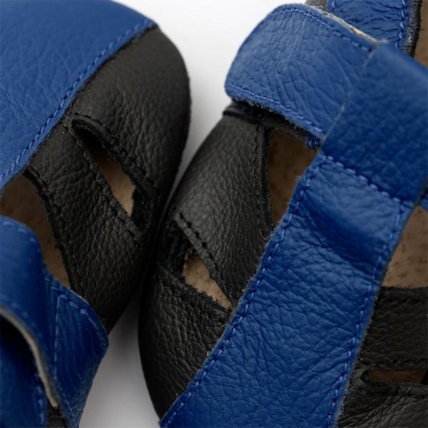 Sandale cu talpă moale Liliputi® - Atacama Black