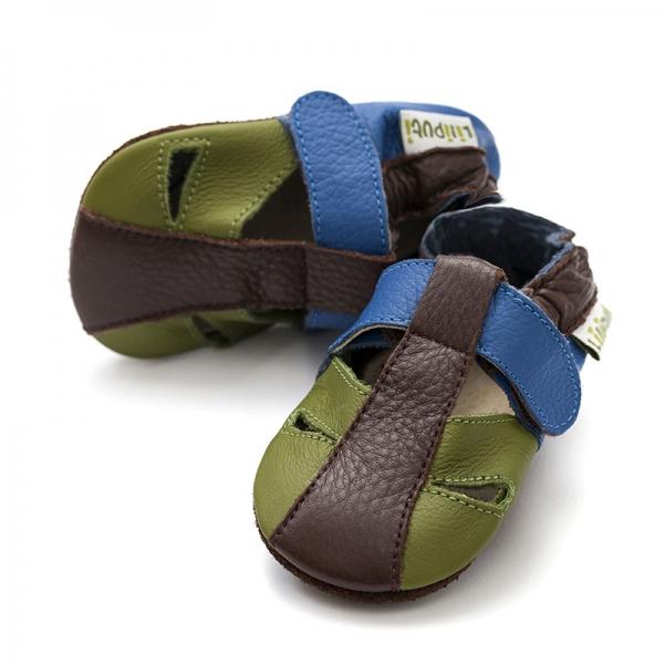 Sandale cu talpă moale Liliputi® - Earth 0