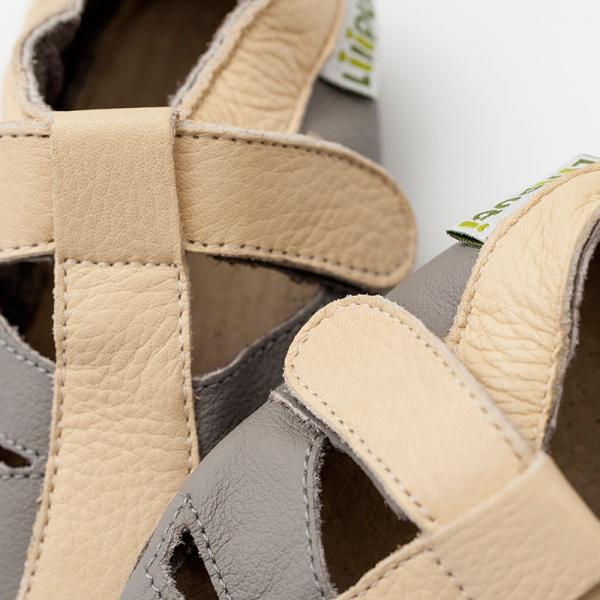Sandale cu talpă moale Liliputi® - Atacama Grey 1