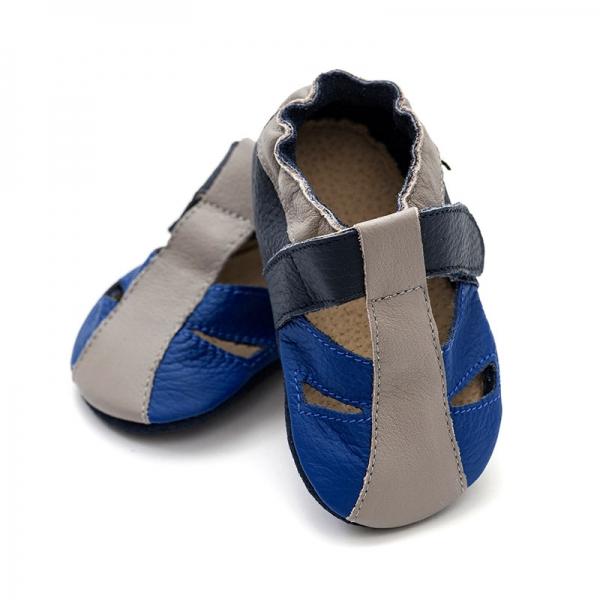 Sandale cu talpă moale Liliputi® - Atacama Navy 0